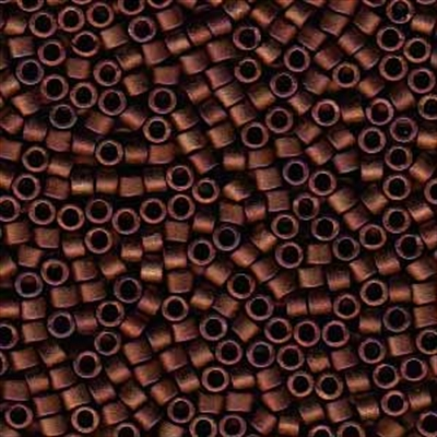 Picture of Miyuki Delica Seed Beads | 11/0 - DB-1051 (T) Matte Metallic Copper Bronze Luster (5 g.)