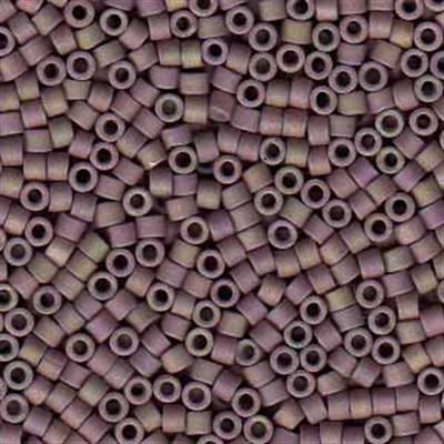Picture of Miyuki Delica Seed Beads | 11/0 - DB-1064 (P) Matte Muddy Mauve Luster AB (5 g.)