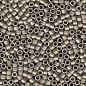 Picture of Miyuki Delica Seed Beads | 11/0 - DB-0321 (Q) Matte Metallic Nickel Plated (5 g.)