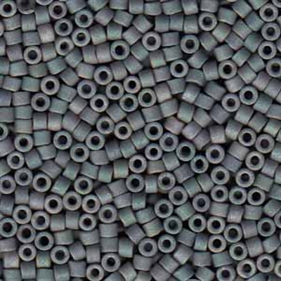 Picture of Miyuki Delica Seed Beads | 11/0 - DB-1063 (T) Matte Slate Blue Grey Luster AB (5 g.)