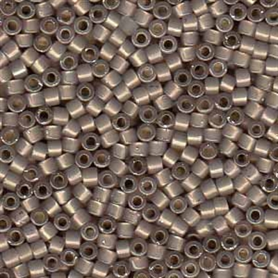 Picture of Miyuki Delica Seed Beads | 11/0 - DB-1460 (G) Silver Lined Mocha Taupe Opal (5 g.)