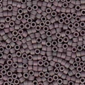 Picture of Miyuki Delica Seed Beads | 11/0 - DB-1062 (T) Matte Grey Mauve Taupe Luster AB (5 g.)