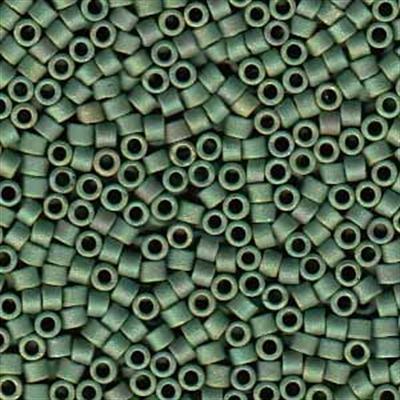 Picture of Miyuki Delica Seed Beads | 11/0 - DB-0373 (P) Matte Opaque Sage Green Luster AB (5 g.)