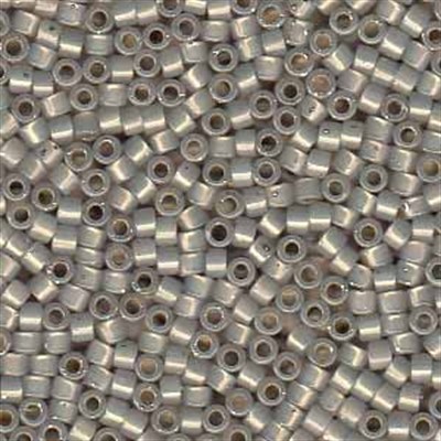 Picture of Miyuki Delica Seed Beads | 11/0 - DB-1456 (G) Silver Lined Lt. Taupe Opal (5 g.)
