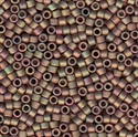 Picture of Miyuki Delica Seed Beads | 11/0 - DB-0380 (T) Matte Metallic Antique Bronze AB (5 g.)
