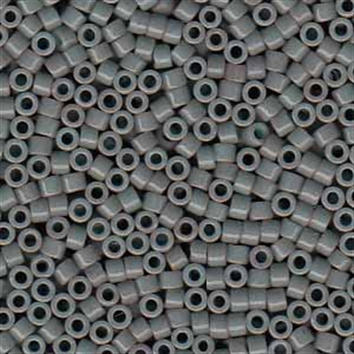 Picture of Miyuki Delica Seed Beads | 11/0 - DB-0652 (B) Dyed Opaque Grey (5 g.)
