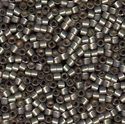 Picture of Miyuki Delica Seed Beads | 11/0 - DB-0631 (G) Silver-Lined Pewter Opal (5 g.)