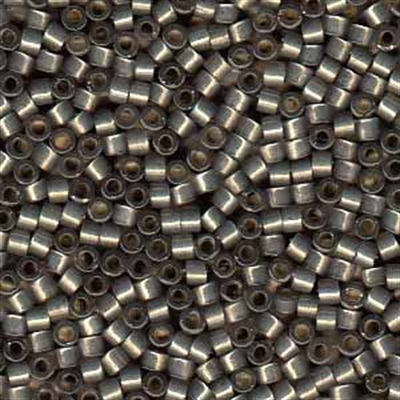 Picture of Miyuki Delica Seed Beads   11/0 - DB-0631 (G) Silver-Lined Charcoal Grey Opal (5 g.)