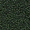Picture of Miyuki Delica Seed Beads | 11/0 - DB-0663 (B) Dyed Opaque Forest Green (5 g.)