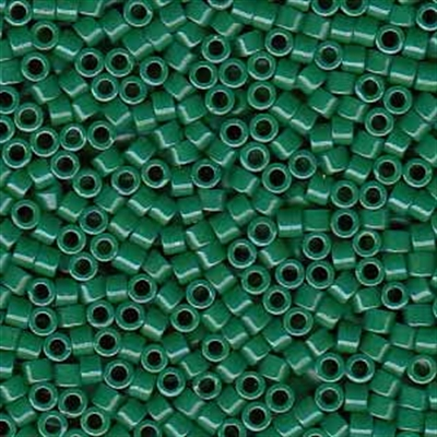 Picture of Miyuki Delica Seed Beads | 11/0 - DB-0656 (B) Dyed Opaque Hunter Green (5 g.)