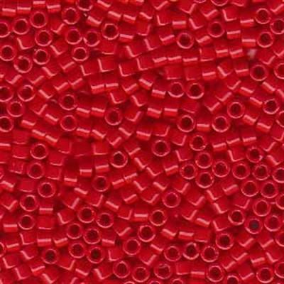 Picture of Miyuki Delica Seed Beads | 11/0 - DB-0723 (A) Opaque Red (5 g.)