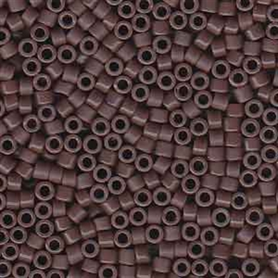 Picture of Miyuki Delica Seed Beads | 11/0 - DB-0735 (A) Opaque Cocoa Plum (5 g.)