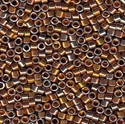 Picture of Miyuki Delica Seed Beads | 11/0 - DB-0506 (PM5) 24KT Burnished Gold Plated (2.5 g.)