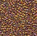 Picture of Miyuki Delica Seed Beads | 11/0 - DB-0507 (PM3) 24KT Rose Gold Plated AB (2.5 g.)