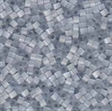 Picture of Miyuki Delica Seed Beads | 11/0 - DB-0677 (L) Iced Grey SIlk (5 g.)