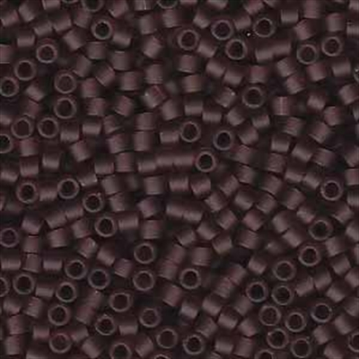 Picture of Miyuki Delica Seed Beads | 11/0 - DB-1264 (B) Matte Transparent Dk. Amethyst (5 g.)