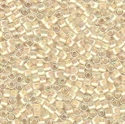 Picture of Miyuki Delica Seed Beads | 11/0 - DB-0052 (A) Cream-Lined Crystal AB (5 g.)