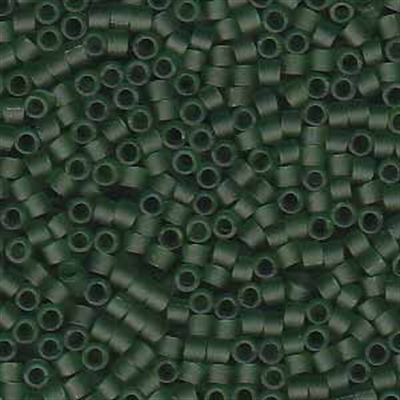 Picture of Miyuki Delica Seed Beads | 11/0 - DB-1267 (B) Matte Transparent Olive Green (5 g.)