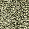 Picture of Miyuki Delica Seed Beads | 11/0 - DB-1170 (R) Matte Galvanized Aloe Green (5 g.)