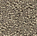 Picture of Miyuki Delica Seed Beads | 11/0 - DB-1169 (R) Matte Galvanized Pewter (5 g.)