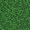 Picture of Miyuki Delica Seed Beads | 11/0 - DB-0754 (B) Matte Opaque Green (5 g.)