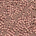 Picture of Miyuki Delica Seed Beads | 11/0 - DB-1166 (R) Matte Galvanized Blush Pink (5 g.)