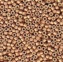 Picture of Miyuki Delica Seed Beads | 11/0 - DB-1165 (R) Matte Galvanized Rose Gold (5 g.)
