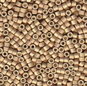 Picture of Miyuki Delica Seed Beads | 11/0 - DB-1162 (R) Matte Galvanized Champagne (5 g.)