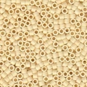 Picture of Miyuki Delica Seed Beads | 11/0 - DB-0762 (B) Matte Opaque Dk. Cream (5 g.)