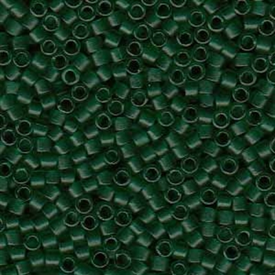 Picture of Miyuki Delica Seed Beads | 11/0 - DB-0776 (C) Semi-Matte Transparent Forest Green (5 g.)