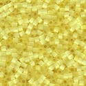Picture of Miyuki Delica Seed Beads | 11/0 - DB-0823 (L) Pale Yellow Silk (5 g.)