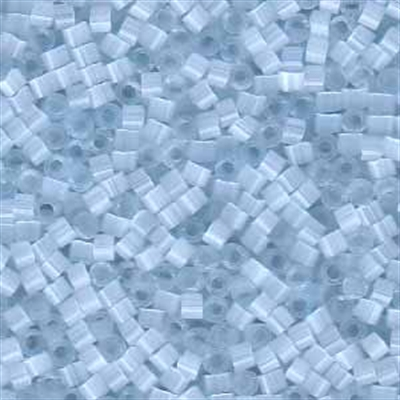 Picture of Miyuki Delica Seed Beads | 11/0 - DB-0830 (L) Pale Powder Blue Silk (5 g.)