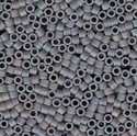 Picture of Miyuki Delica Seed Beads | 11/0 - DB-0882 (B) Matte Opaque Grey AB (5 g.)