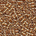 Picture of Miyuki Delica Seed Beads | 10/0 - DBM-1834 (N) DURACOAT Galvanized Rose Gold (5 g.)