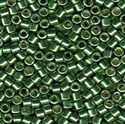 Picture of Miyuki Delica Seed Beads | 10/0 - DBM-1845 (N) DURACOAT Galvanized Moss Green (5 g.)