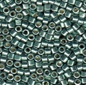 Picture of Miyuki Delica Seed Beads | 10/0 - DBM-1846 (N) DURACOAT Galvanized Lt. Teal (5 g.)