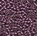 Picture of Miyuki Delica Seed Beads | 10/0 - DBM-1850 (N) DURACOAT Galvanized Purple Grape (5 g.)