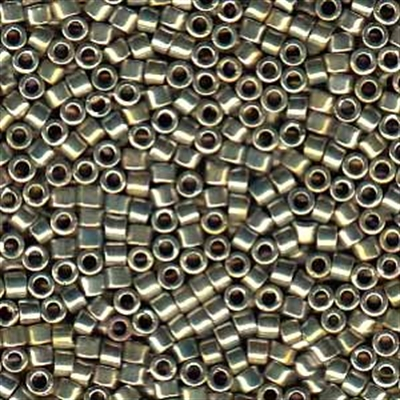 Picture of Miyuki Delica Seed Beads | 11/0 - DB-0546 (PM4) Silver Gold Palladium Plated AB (2.5g)