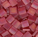 Picture of Miyuki Tila Beads | TL-0140FR (G) Matte Transparent Red AB (5 g.)
