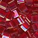 Picture of Miyuki Tila Beads | TL-0254 (E) Transparent Red AB (5 g.)