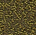 Picture of Miyuki Delica Seed Beads | 11/0 - DB-0456 (Q) Nickel Plated Golden Olive (5 g.)