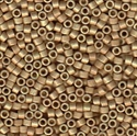 Picture of Miyuki Delica Seed Beads | 11/0 - DB-1834F (U) DURACOAT Matte Galvanized Rose Gold (5 g.)