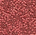 Picture of Miyuki Delica Seed Beads | 11/0 - DB-1841F (U) DURACOAT Matte Galvanized Hot Pink (5 g.)
