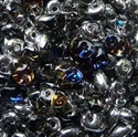 Picture of Czech SuperDuo Beads | SD-00030/29536  Crystal Helio