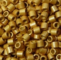 Picture of Miyuki Delica Seed Beads | 8/0 - DBL-1832F (Q) DURACOAT Galvanized Matte Bright Gold (5 g.)