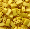 Picture of Miyuki Half Tila Beads | HTL-2311 (I) Matte Opaque Dk. Canary Yellow (5 g.)
