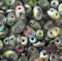 Picture of Czech MiniDuo Beads | MD-00030/28171  Matte Crystal Vitrail (5 g.)