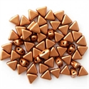 Picture of Kheops par Puca Beads | KP-00030/01780  Silky Lt. Copper Bronze (9 g.)
