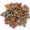 Picture of Kheops par Puca Beads | KP-00030/01640  Silky Violet Gold Rainbow (9 g.)