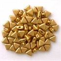 Picture of Kheops par Puca Beads | KP-00030/01710  Silky Lt. Aztec Gold (9 g.)